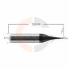 Micro_fresa_de_topo_reto_2_cortes_0.4mm_x_0.8mm_HRC55_cobertura_AlTin