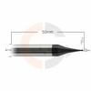 Micro_fresa_esferica_de_2_cortes_0.3mm_x_0.6mm_HRC55_cobertura_AlTin