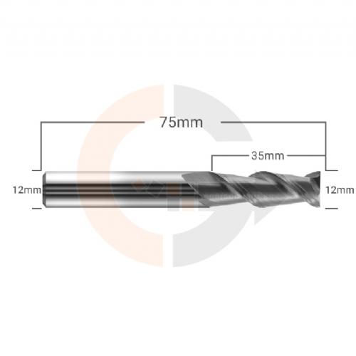 Fresa_Para_Aluminio_2_Cortes_HRC55_12mm_x_35mm
