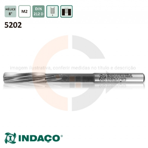 Alargador_Maquina_12mm_Canal_Helicoidal__Din_212_D__Indaco