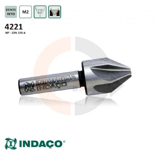 Escareador_16_x_90_graus___corte_a_direita__haste_cilindrica__DIN_335_A__Indaco