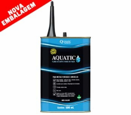 Fluido de corte para metais Aquatic, 500ml - Tapmatic